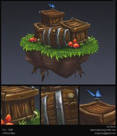 Hand Painted Exercises - Polycount Forum