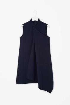 Cos Draped Layer Dress, $115; cosstores.com   - ELLE.com