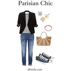 How to Dress like a Parisian - advice from an iconic French woman