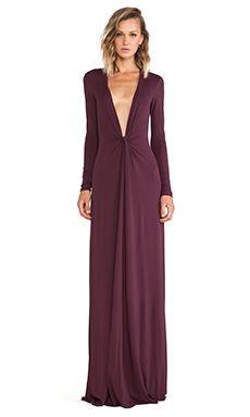 Issa Cilla Maxi Dress in Bordeaux | REVOLVE