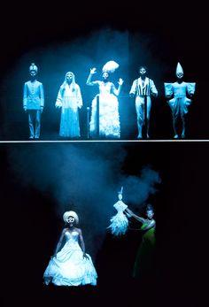 Les Nègres de Jean Genet mise en scène, scénographie, lumière Robert Wilson Saison 2014-2015 | Odéon Théâtre de l'Europe, Paris | photo de répétition © Lucie Jansch