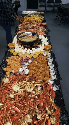Ultimate seafood layout