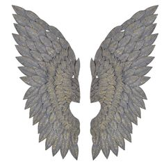 [CDATA[A stunning pair of distressed feathered Angel wings that will look beautiful literally anywhere!Dimensions: H: Angel Wings Wall Hanging]]> Grey Home Decor, Home Wall Decor, Angel Wings Wall Decor, Angel Decor, Wing Wall, Metal Wings, French Walls, Wall Sculptures, Modern Wall Art