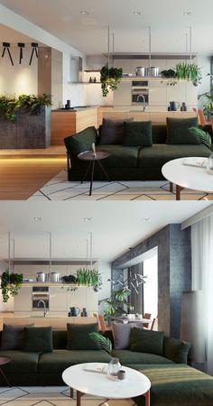 cloison ajoure bois revtement mural salon ide dco effet nature appartement contemporain luxe moscou interiordesign salon moderne pinterest