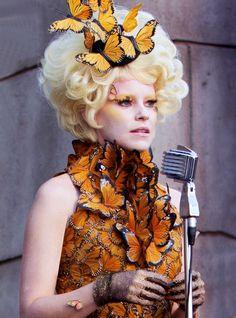 Effie Trinket --- Butterfly Dress