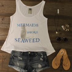 #mermaids smoke seaweed - available at Etiquette Boutique Ft. Lauderdale