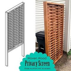 You all have seen and admired this privacy screen. Now you can learn how we built it.