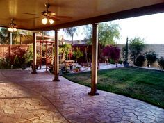 Amazing Southern California Patios   SOLID PATIO COVERS