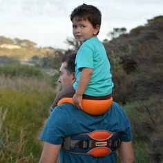 SaddleBaby Allows For Hands-Free Shoulder Rides  ... see more at InventorSpot.com