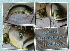 3-D catfish cake