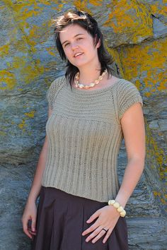 This listing is for a knitting PATTERN. Mudita is knit from the top down—the yoke is worked, then the sleeve stitches are placed on holders