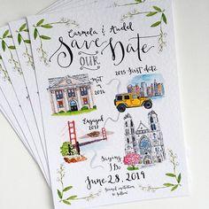 wedding invitations diy 17 ideas for diy wedding themes save the date Illustrated Wedding Invitations, Laser Cut Wedding Invitations, Wedding Stationary, Map Wedding Invitation, Creative Wedding Invitations, Invitation Kits, Diy Invitations, Invitation Wording, Invites