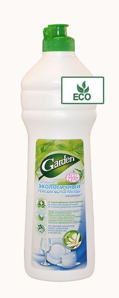 GARDEN Eco Gel- Konzentrat für Geschirrreinigung Zitrone, 500ml.