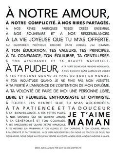 carte fête des mères Plus Belle Citation, Timeline Photos, Love Quotes, Bullet Journal, Math Equations, My Love, Words, Happy, Scrap