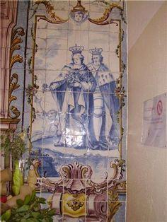 D. Dinis e Santa Isabel e o milagre das Rosas. Hospital de Santa Marta, Lisboa