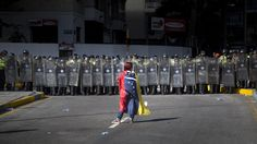 Venezuela Opposition March Ends After Police Scuffles.