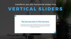 Turn Your Divi Horizontal Slider Into a Vertical Slider