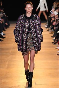 Sfilata Isabel Marant Parigi - Collezioni Autunno Inverno 2015-16 - Vogue
