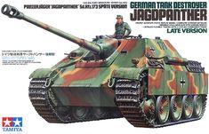 Tanque Alemão Destroyer Jagdpanther - 1/35