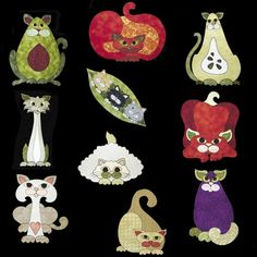 Garden Patch Cats Patterns:  http://lisasstitchingpost.com/index.php?cPath=129_131_72_63  xxxx
