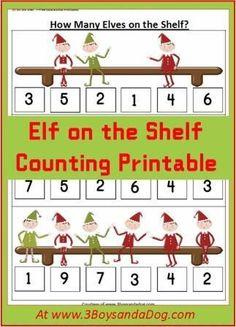 christmas counting w