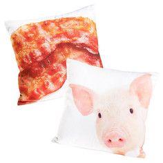 Pig & bacon pillows!