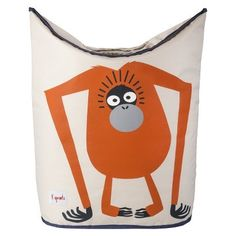 Dotty Hippo - 3 Sprouts Laundry Hamper Orangutan - Nursery Storage, £34.00 (http://www.dottyhippo.co.uk/3-sprouts-laundry-hamper-orangutan-nursery-storage/)