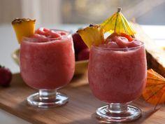 Strawberry Pina Coladas #ThirstyThursday
