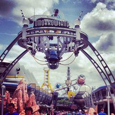 Tomorrowland in Lake Buena Vista, FL