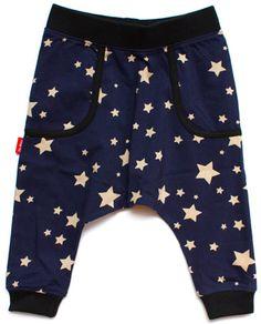 Midnight Star Drop Crotch Trousers