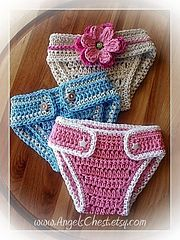 Ravelry: PDF PATTERN Diaper cover or diaper cozy for Newborn to 12 months Boy and Girl Photography Prop Crochet No. 14 pattern by Mary Angel...