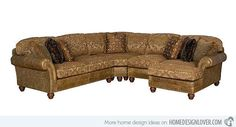 15 Sofa Designs for Rustic Style Living Rooms | Home Design Lover