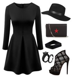"""""""#ContestOnTheGo #ContestEntry"""" by staysaneinsideinsanity ❤ liked on Polyvore featuring WithChic, Christian Louboutin, Givenchy, Marni, Topshop, contestentry and ContestOnTheGo"""