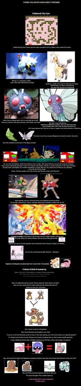 pokemon facts