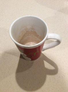 Remove teas stains from mugs in a snap!