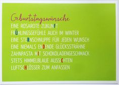 Geburtstagswünsche! geburtstagskarte Whatsapp Facebook Geburtstag Gruß Spruch…