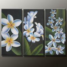 flores blancasModern Flower Huge Canvas Oil Painting50