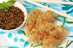 The Café Sucré Farine: Pork Gyoza with Honey-Soy Dipping Sauce