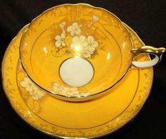 AYNSLEY HAND APPLIED simplyTclub Tea cup and saucer
