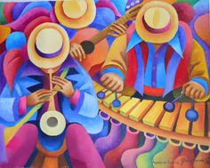 Arte Filipino, Latino Art, New Project Ideas, Dancing Drawings, Caribbean Art, Oil Pastel Drawings, Southwest Art, Alcohol Ink Art, Tile Art