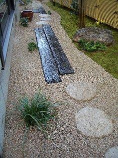 施工例…露地の趣を楽しむ茶庭