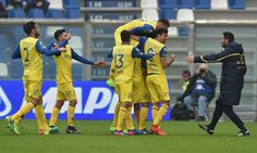 Roberto Inglese med hattrick for Chievo mod Sassuolo.