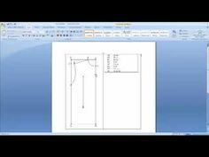 VideoAula 10 Audaces Moldes- Funções de Criação - Criar Moldes por intersecção parte 2