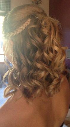 homecoming hair.<3
