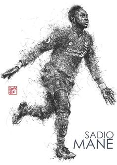Sadio Mane : Liverpool  attack player #Liverpool #TheKopArtsStudio.