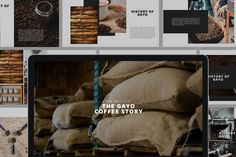 Gayo Coffee Powerpoint Template --- - 50 Unique Slides - 16 : 9 HD Widescreen - PPTX - All text are editable with text tool - Free font used - Image Placeholder Free Powerpoint Presentations, Creative Powerpoint Templates, Powerpoint Presentation Templates, Keynote Template, Keynote Design, Text Tool, Text Fonts, Corporate Flyer, Print Templates