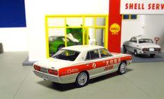 rear back Tomica Limited Vintage LV-Ra05 Nissan Cedric Bunka Housou(Cultural Broadcast) Topicar