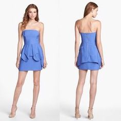 I just discovered this while shopping on Poshmark: Keepsake The Label Double Layer Peplum Dress. Check it out!  Size: 2