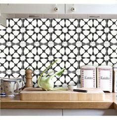 Tuile Sticker cuisine salle de bain sol mur par SnazzyDecal sur Etsy