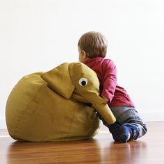 Beanbag Elefant von Il Saccotto | MONOQI